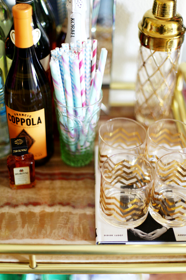 Bar Tray 101 - Styling Tips | The Daily Dose