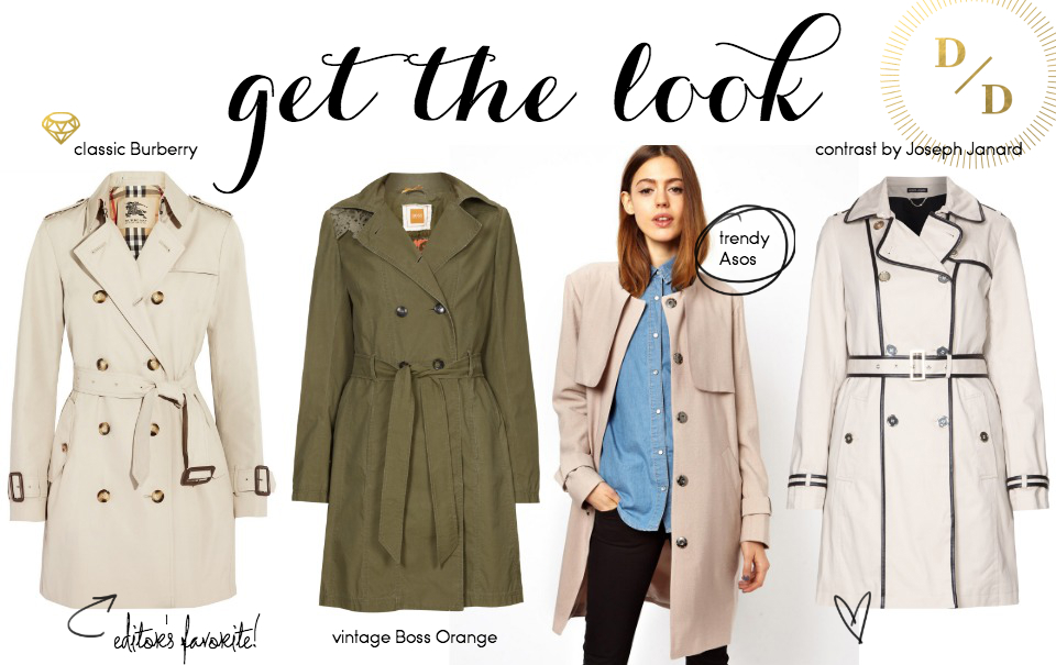 Spring Trend: Trenchcoats