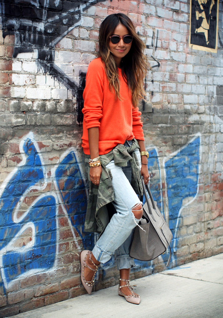 Steal Her Style: Rips & Studs by Sincerely Jules | The Daily Dose
