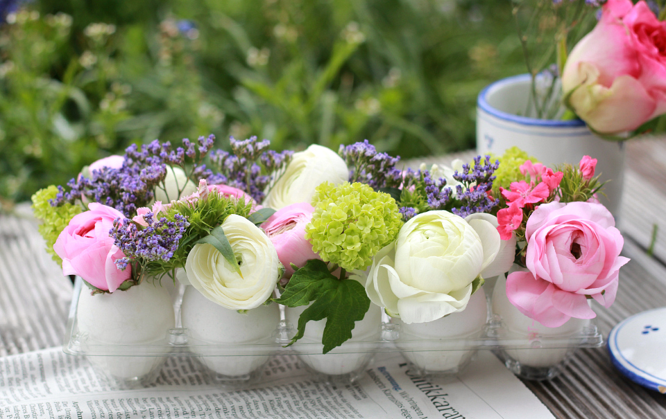 DIY: Floral Centerpiece