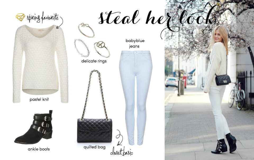Steal Her Style: Pastel Knits For Spring