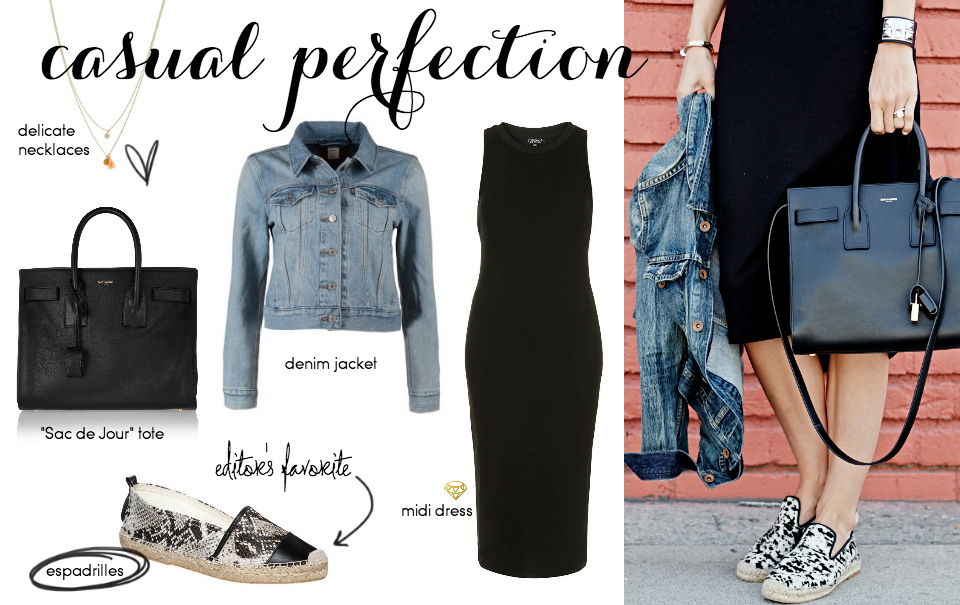 Steal Her Style: A Casual Dress