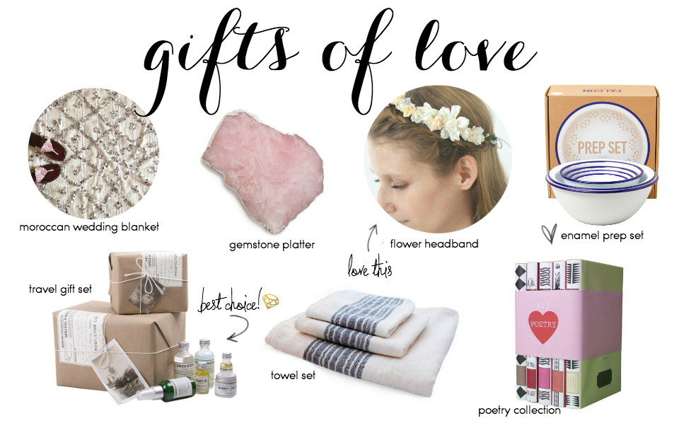Wedding Gift Guide: For The Couple