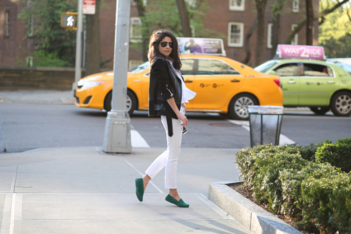 Steal Her Style: Tod's Gommino Moccasins | Love Daily Dose