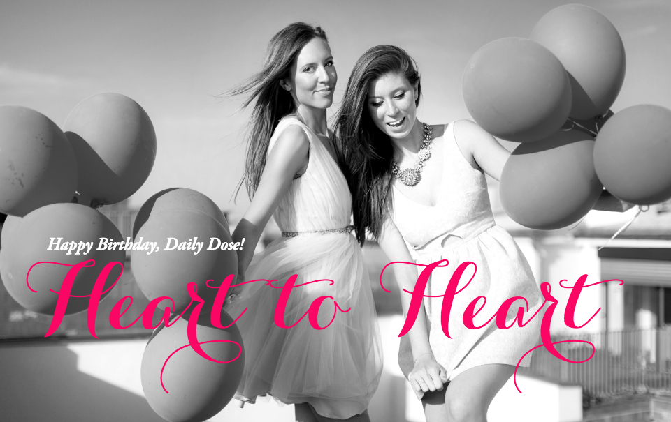 Heart To Heart: One Year TDD + Giveaway