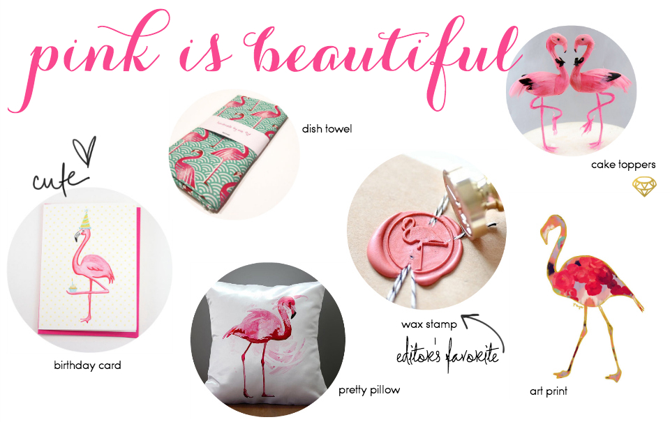 Etsy Picks Of The Week: Flamingo Love