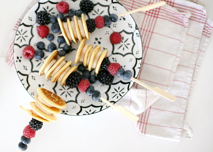 Pancake Party Sticks - Recipe | Love Daily Dose
