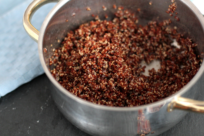 Rezept: Roter Quinoa Salat mit Feta | Love Daily Dose