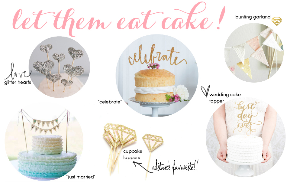 Etsy Picks Of The Week: Cake Toppers