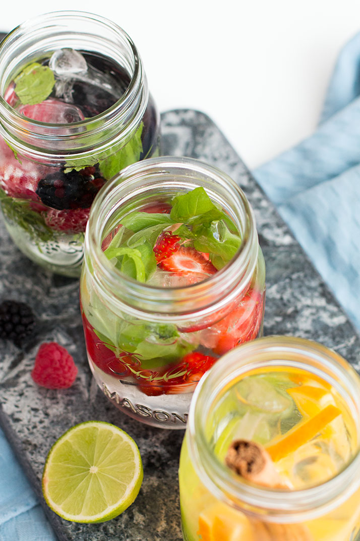 Flavor Infused Water - 3 Ways | Love Daily Dose