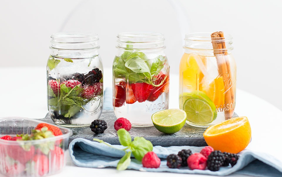 Bubbly Friday: Infused Water – 3 Ways