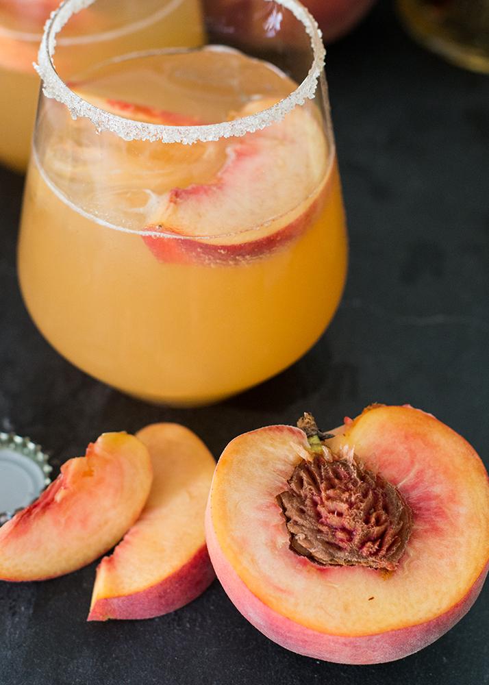 Peach Lillet Fizz   Love Daily Dose