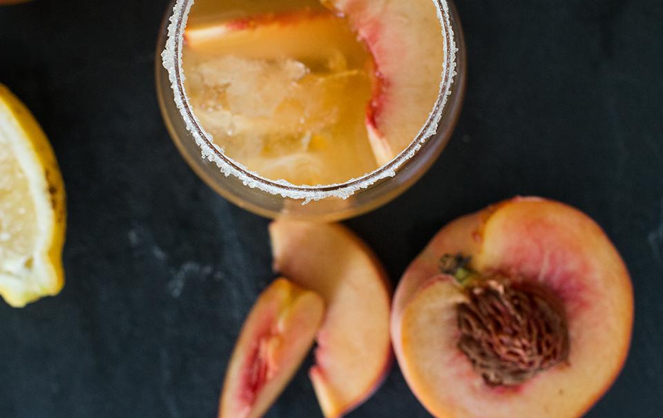 Peachy Lillet Lemonade