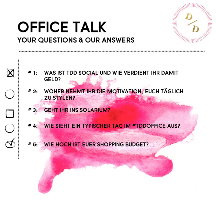 Office Talk Q&A | The Daily Dose