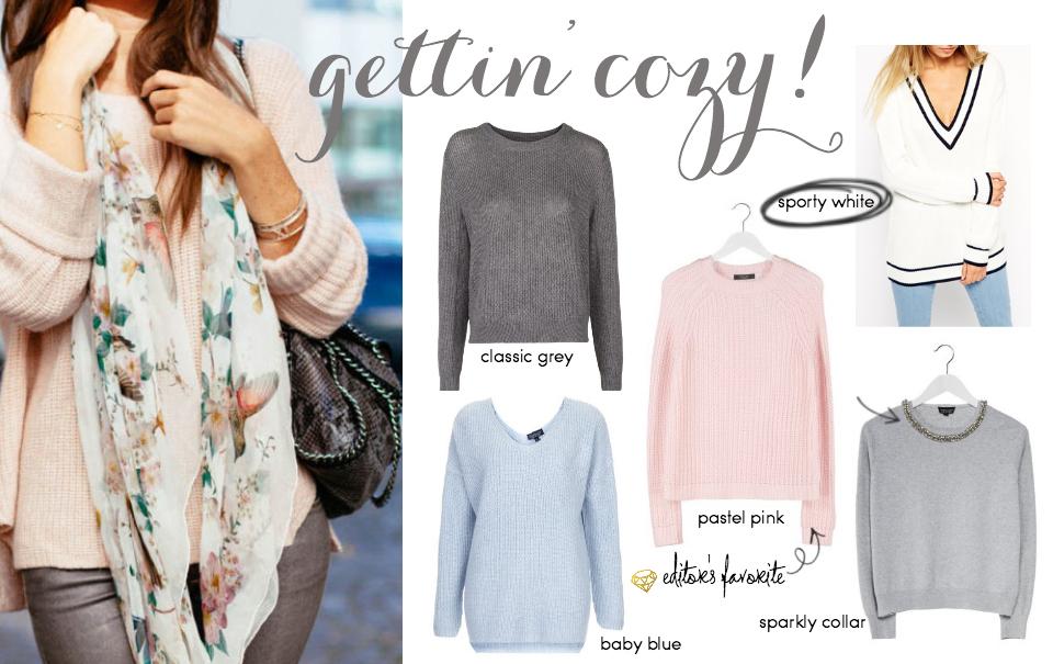 Wishlist: Cozy Sweaters