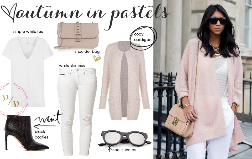 Steal Her Style: Pastels For Autumn