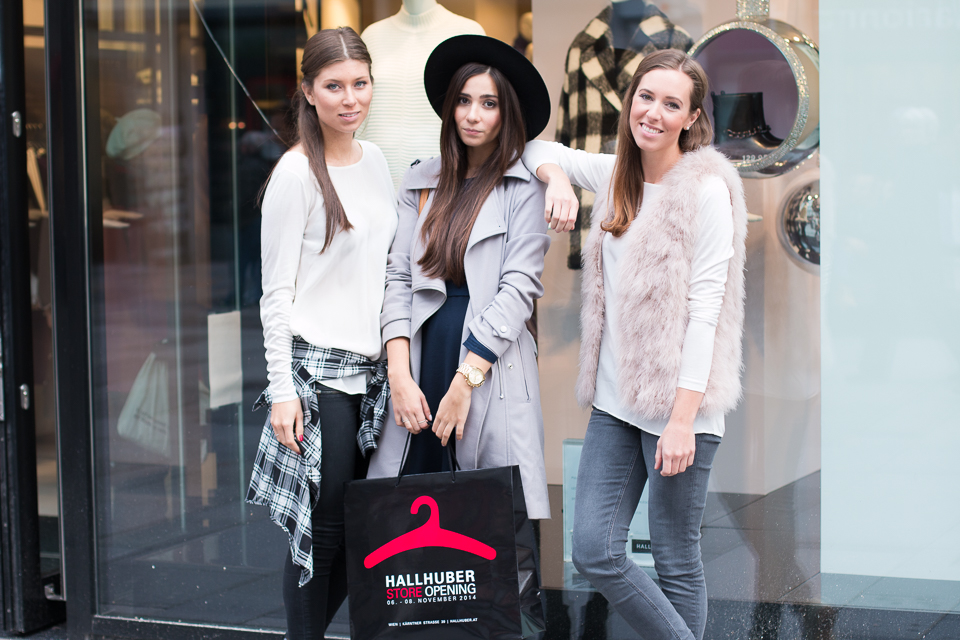 Out & About: Hallhuber Flagship Store