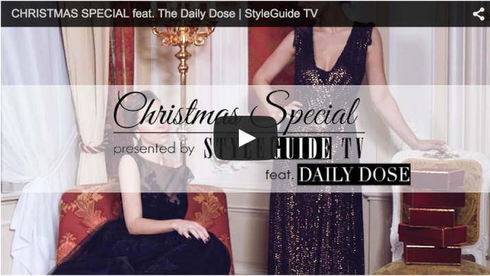 Editor's Pick: Merry Christmas with StyleGuide TV | Love Daily Dose