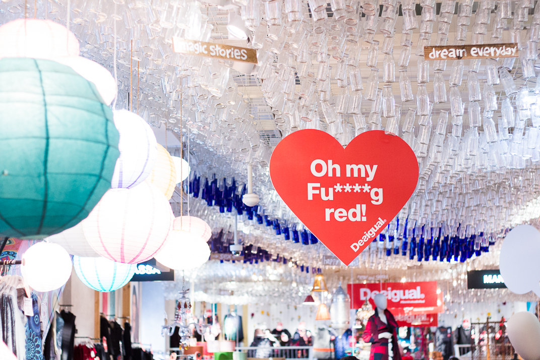 Desigual #SeminakedInRed Vienna | Love Daily Dose