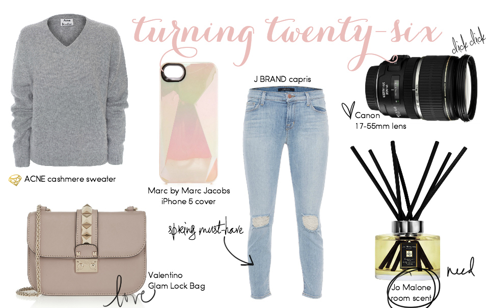 Twenty-Six: Vicky's Birthday Wishlist