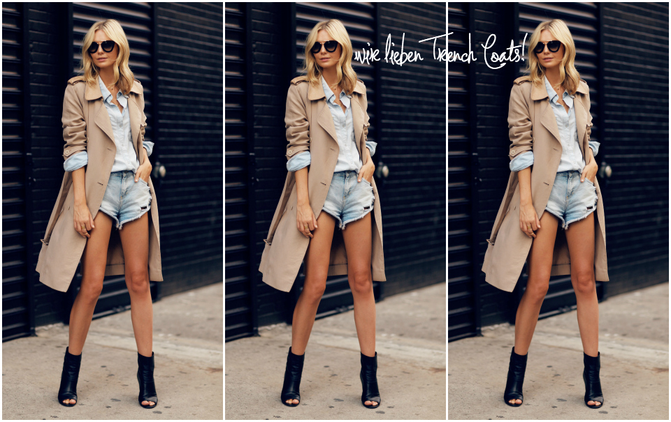 Steal Her Style: Trench Love
