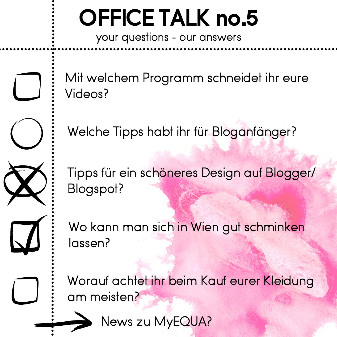 Office Talk #5: Blogs, Schminktipps & Mode | Love Daily Dose