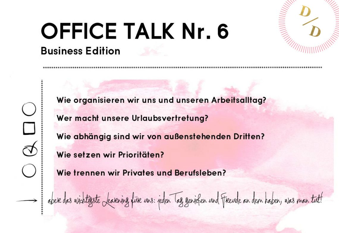 Office Talk #6: Business Edition