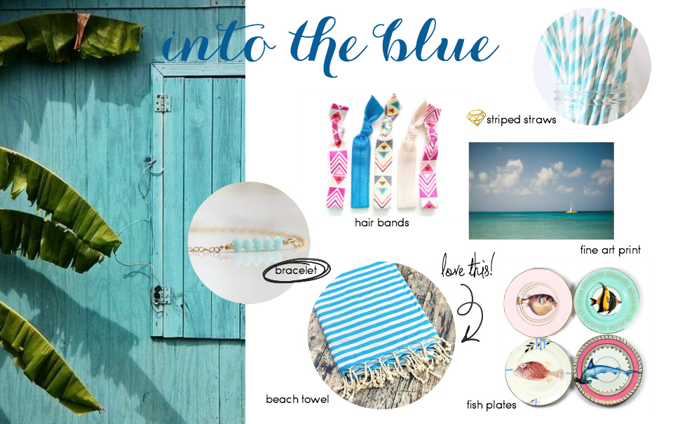 Etsy Picks: Poolside Blue
