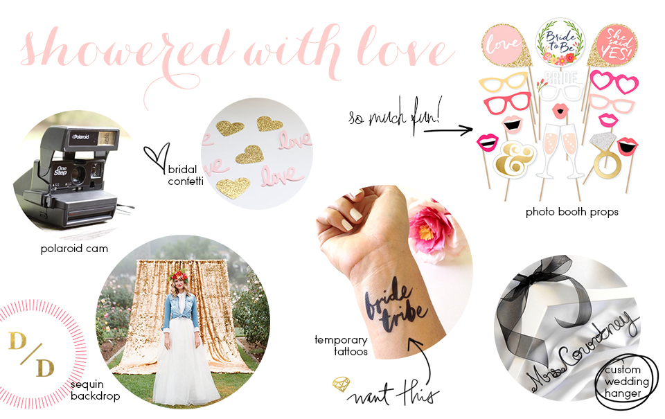 Etsy Picks: Bridal Shower