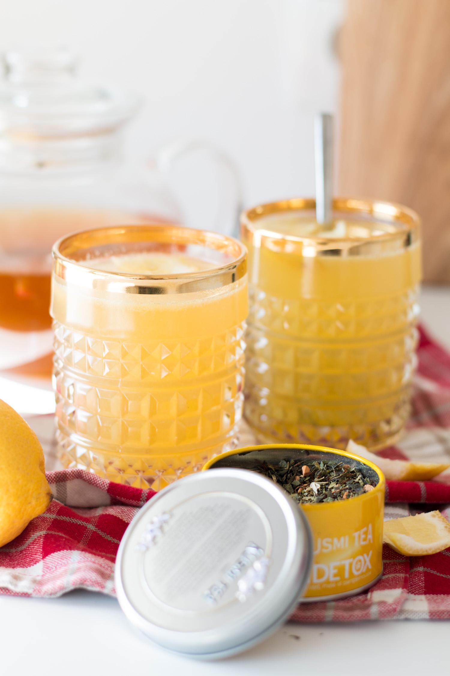 Detox Lemontea | The Daily Dose