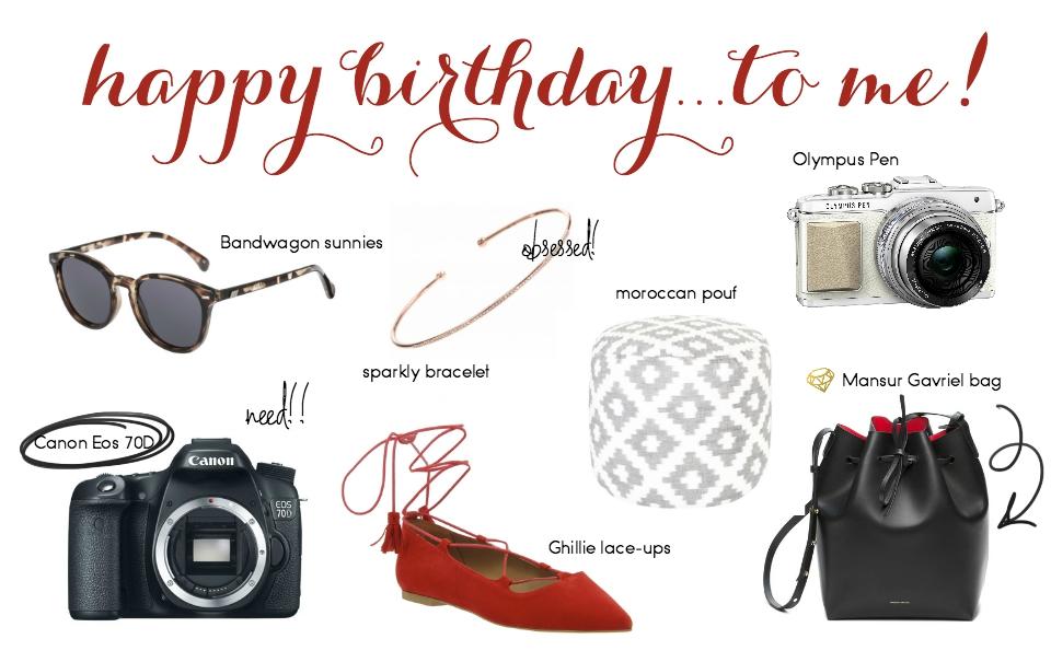 Kathi's Birthday Wishlist