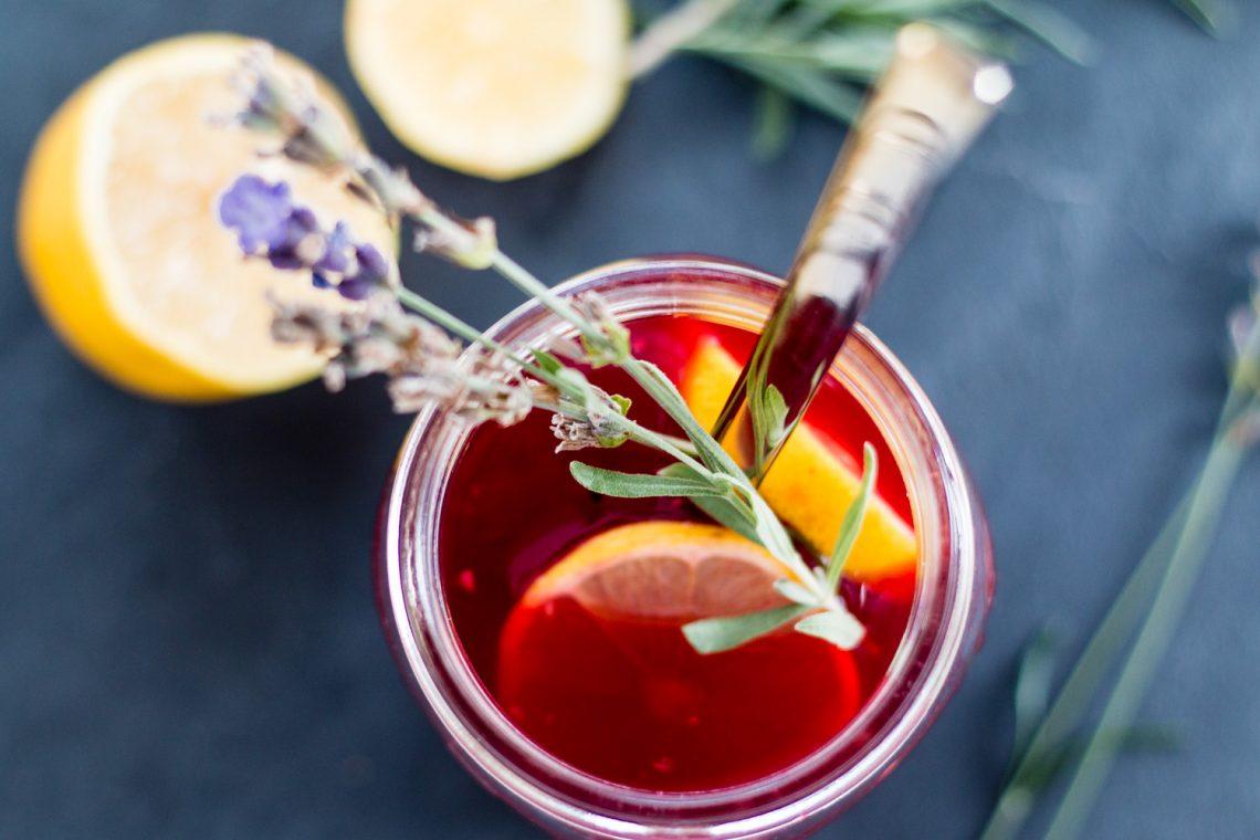 Bubbly Friday: Raspberry Shrub
