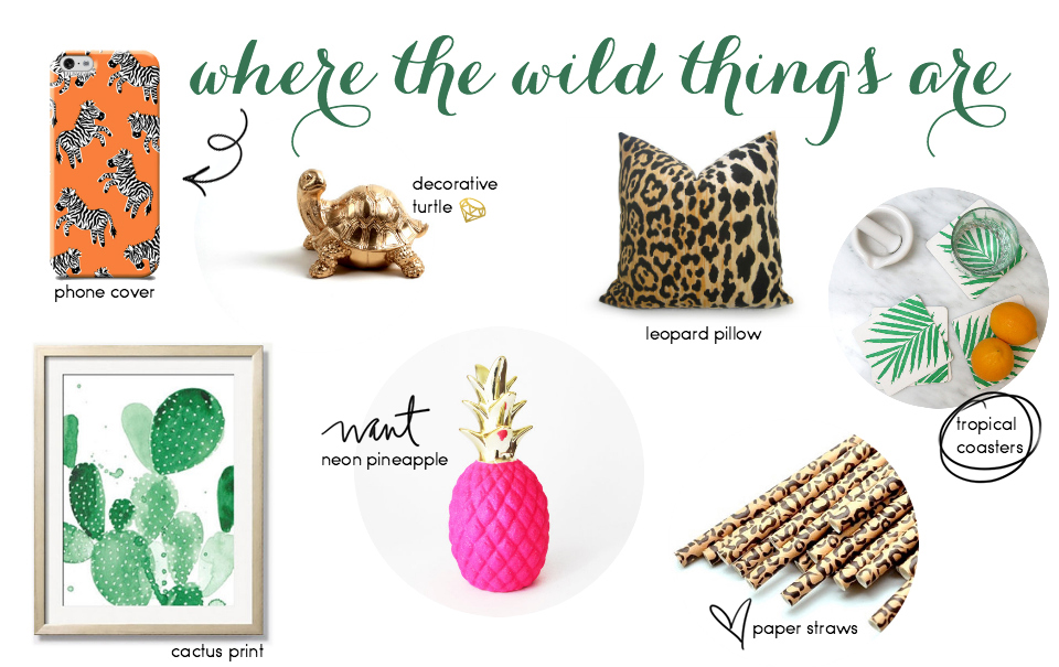Etsy Picks: Jungle Fever