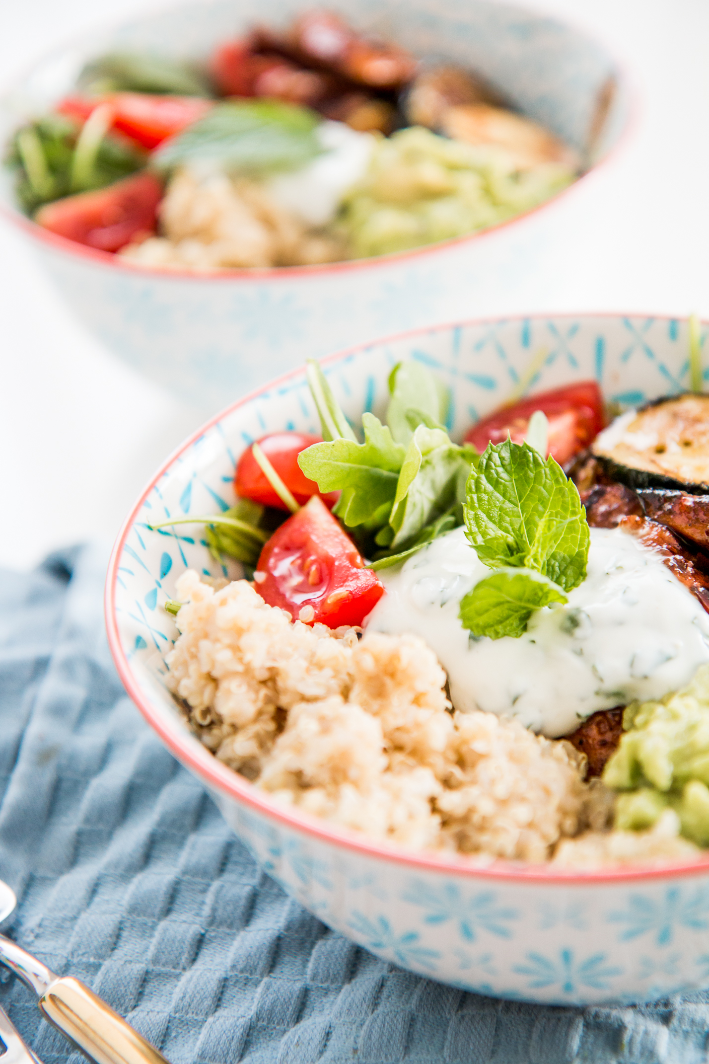 Recipe: Healthy Quinoa Lunch Bowl | Love Daily Dose