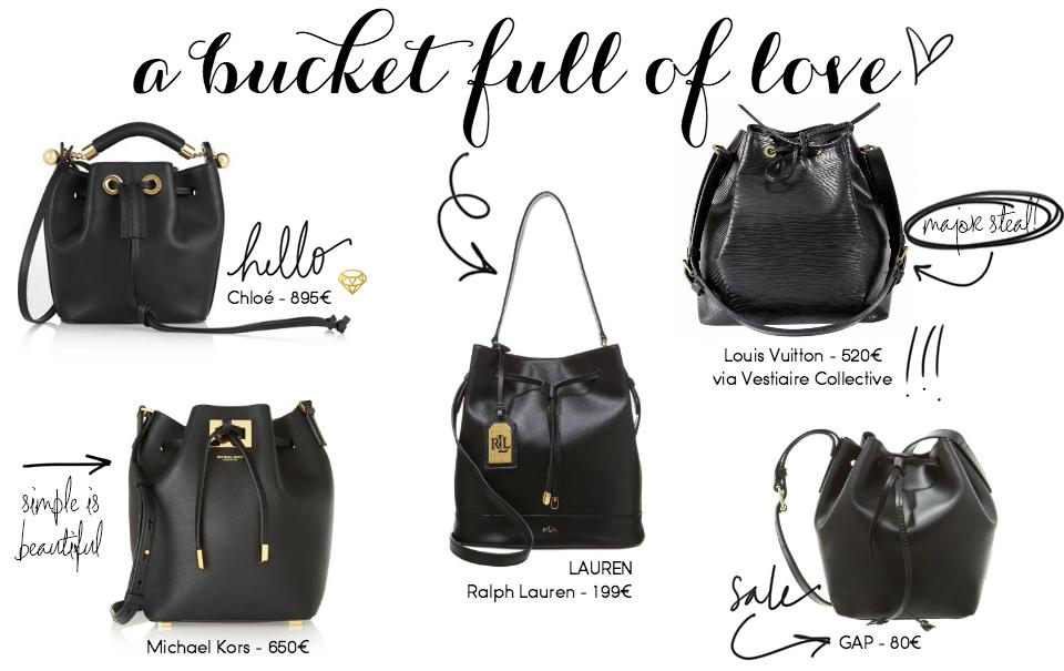 Steals & Finds: Bucket Bags