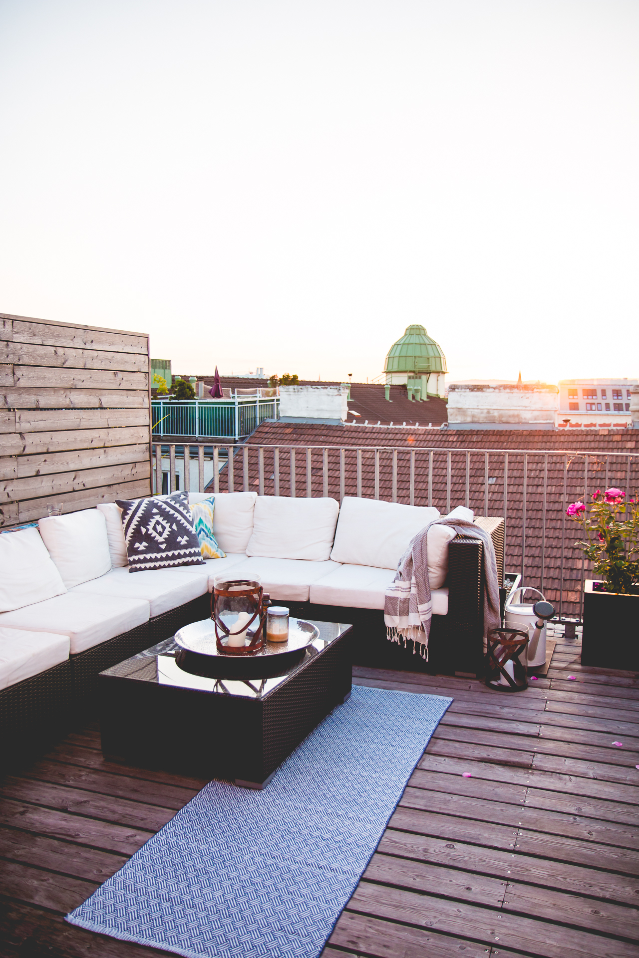 Outdoor Living - Rooftop Terrace Inspiration | Love Daily Dose