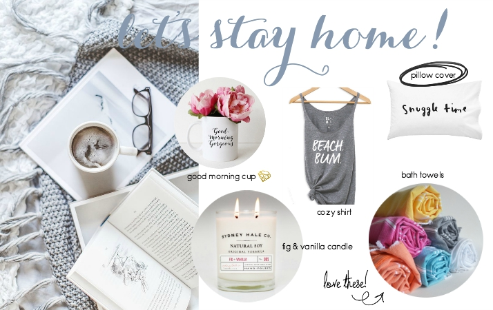 Etsy Picks: Staying In
