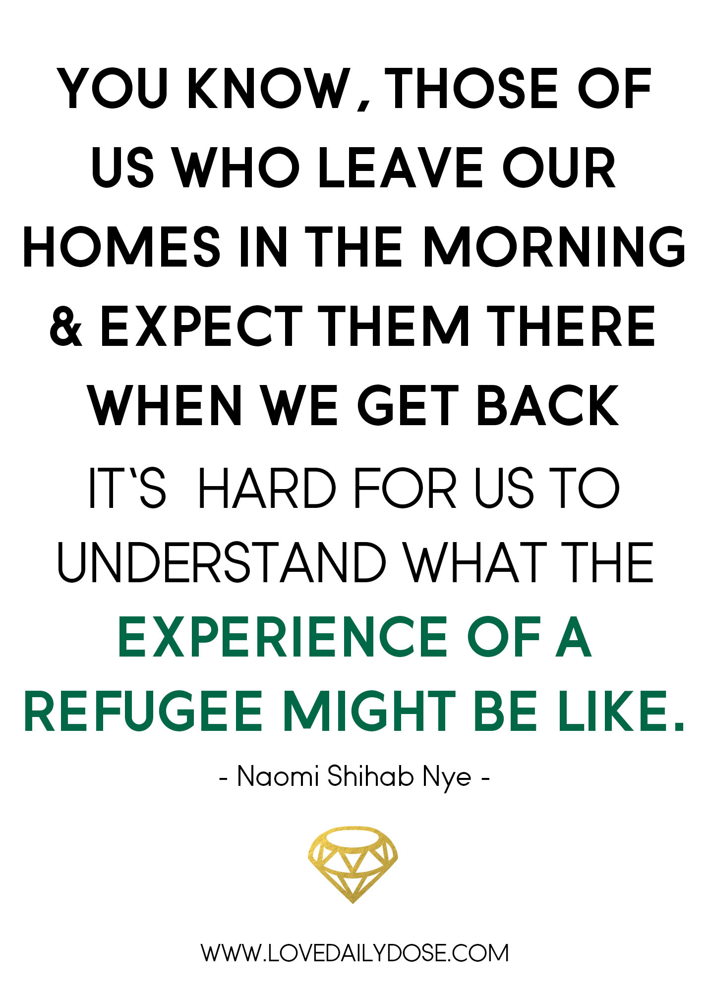 Heart to Heart: #refugeeswelcome | Love Daily Dose
