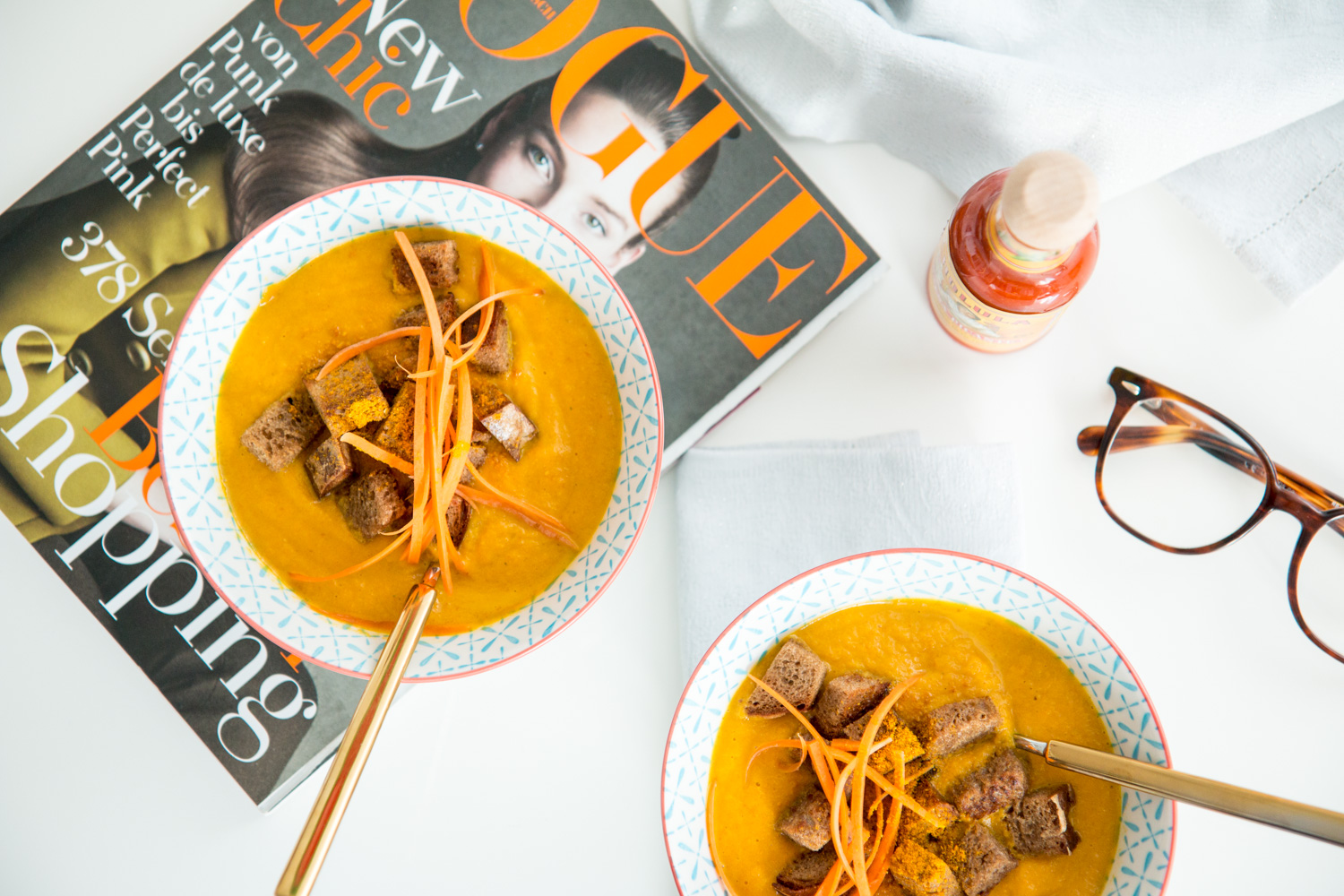 Carrot Coco Soup | The Daily Dose