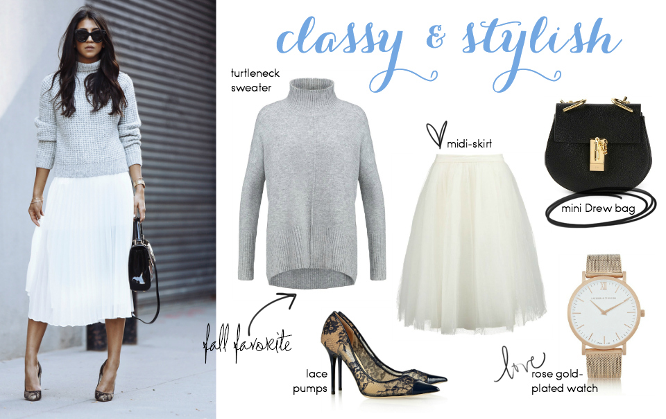 Steal Her Style: City Elegance by Kayla