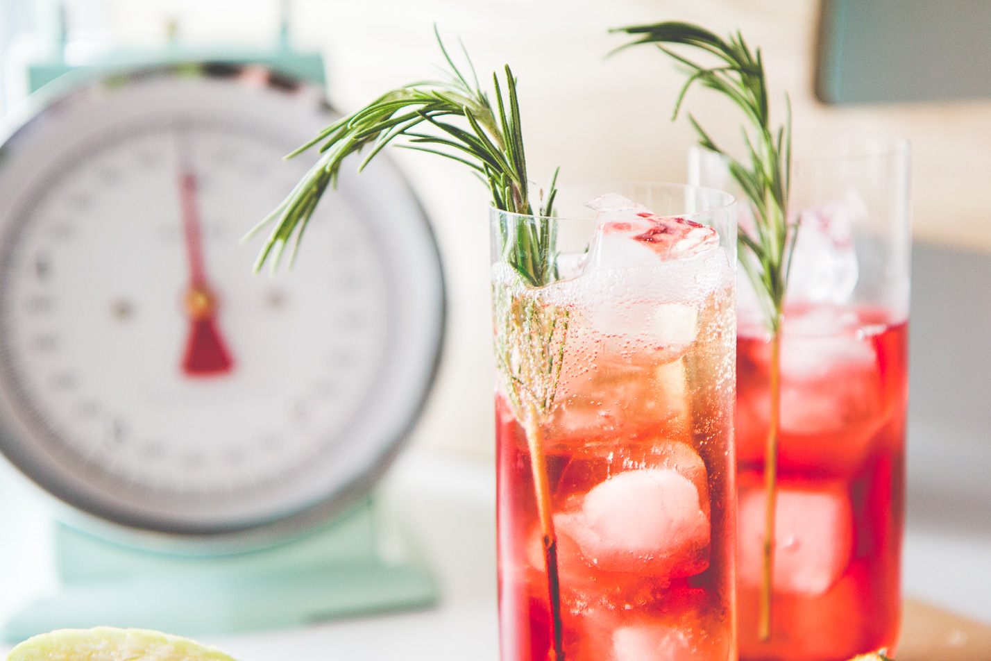 Ginger Berry Vodka Cocktail | Love Daily Dose