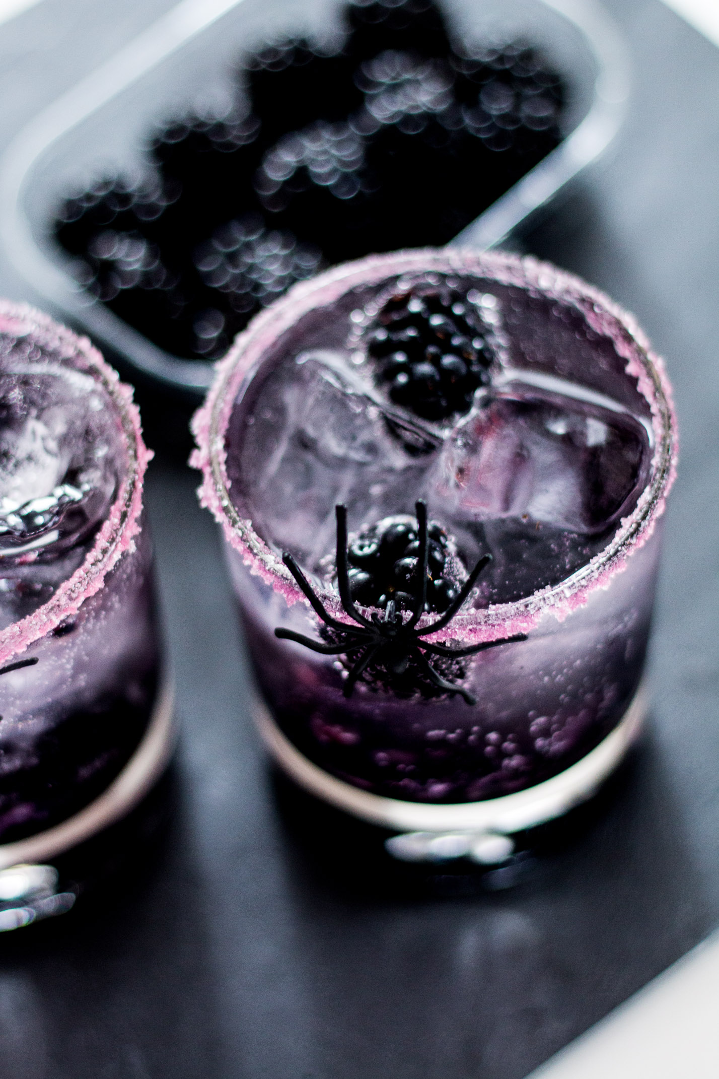 Halloween Cocktail: Black Widow | Love Daily Dose