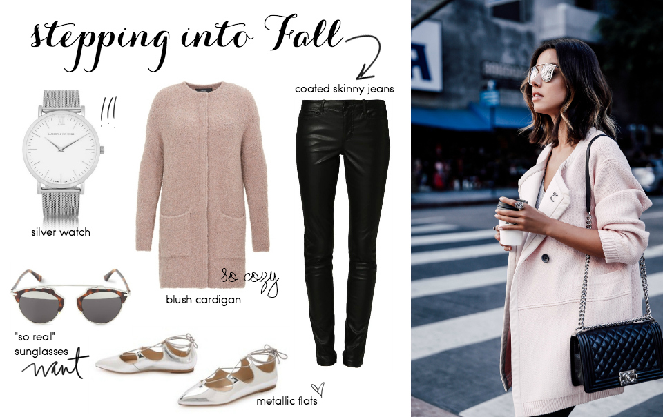 Steal Her Style: Blushing Autumn