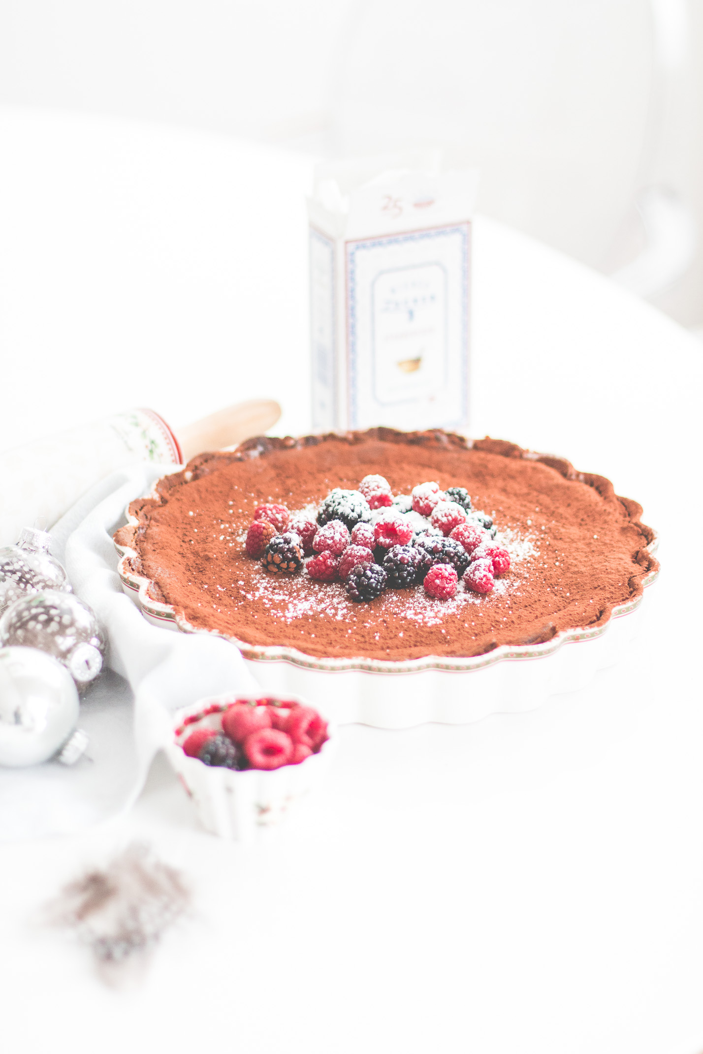 Winter Bakery mit Villeroy & Boch: Chocolate Cheesecake | Love Daily Dose