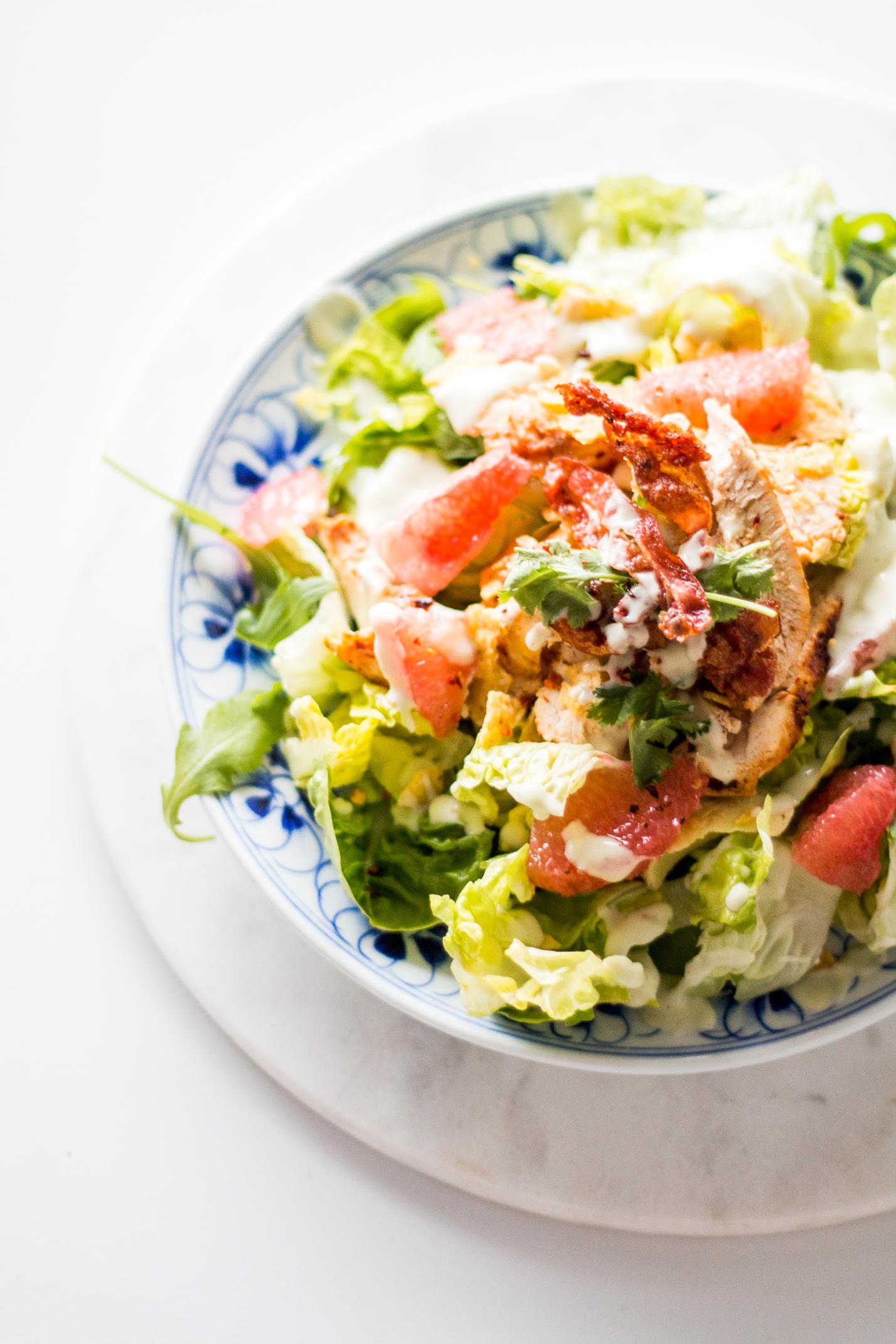L.A. Inspired Turkey Salad Recipe | Love Daily Dose
