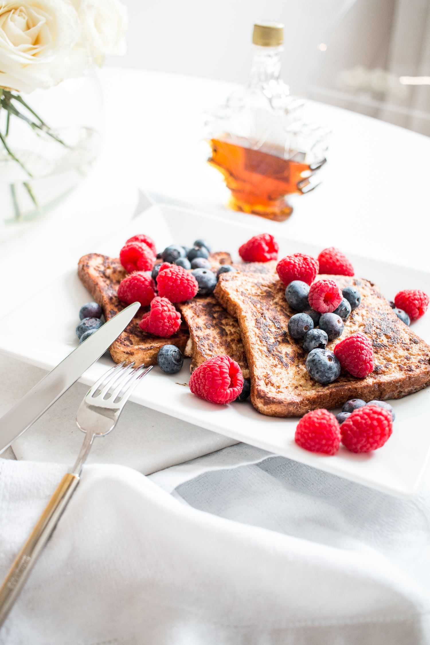 Brunch Recipe: French Toast with Fresh Berries | Love Daily Dose