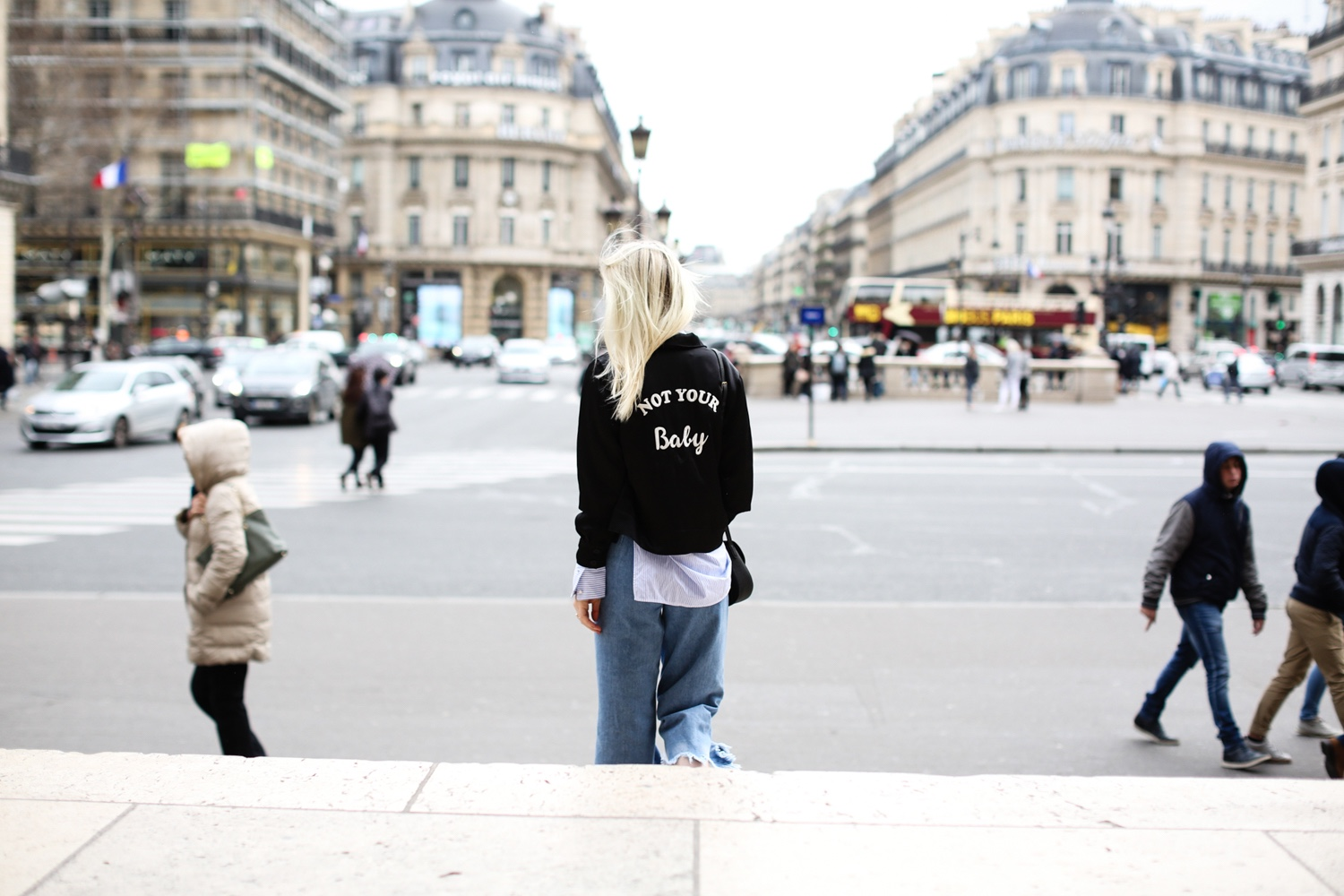 Steal Her Style: Not Your Baby Bomber Jacket by Style Shiver | Love Daily Dose