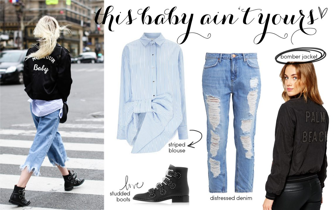 Steal Her Style: Not Your Baby!