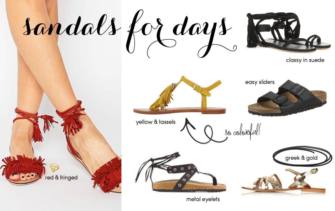 Steals & Finds: Spring Sandals