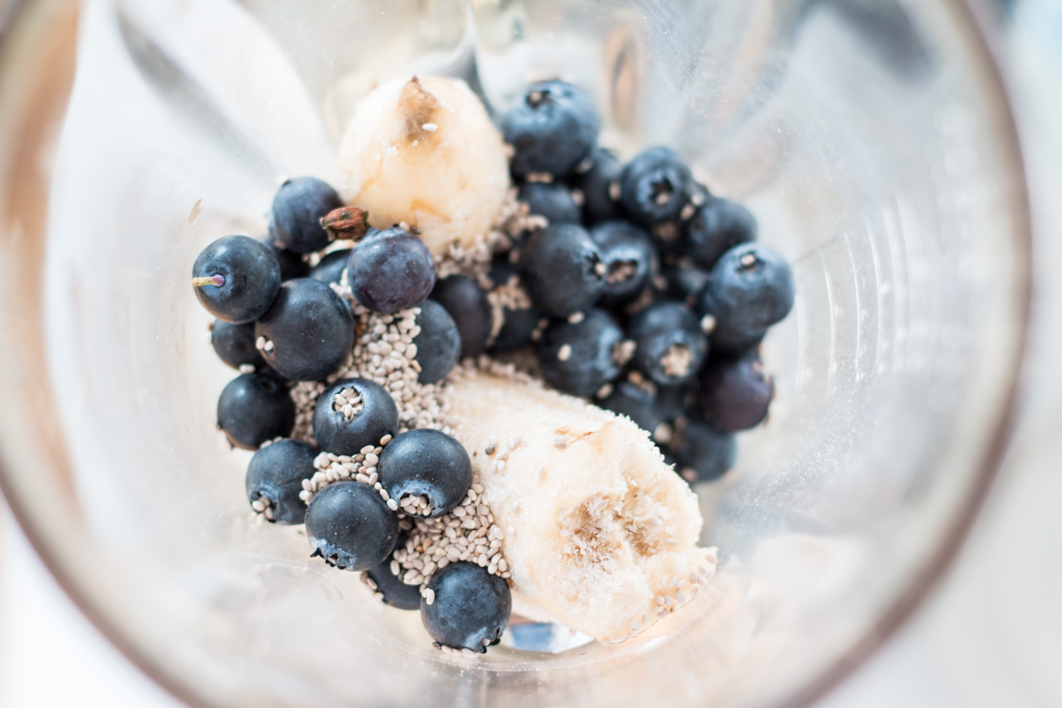 Blueberry Coconut Milkshake | The Daily Dose